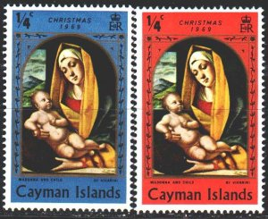 Cayman Islands. 1965. 341-42 from the series. Christmas. MNH.