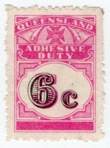 (I.B) Australia - Queensland Revenue : Adhesive Duty 6c on 5c OP