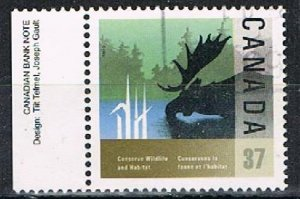 CANADA 190324 - 1988 37c Wildlife Conservation used single
