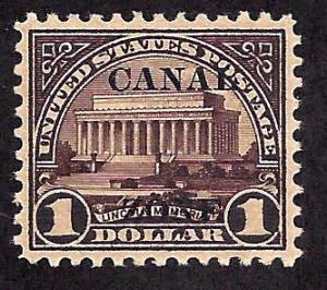 Canal Zone 81 Mint,OG,H... CV $225.00... XF