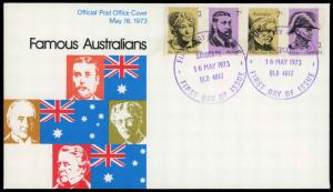 Australia 546-549 First Day Cover