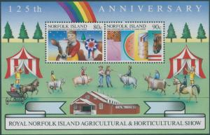 Norfolk Island 1985 SG373 Agriculture Show MS MNH