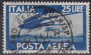 Italy #C111 F-VF Used CV $13.00 (Z2866)
