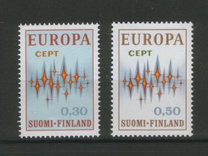 FINLAND-MNH** STAM-EUROPA CEPT-1972.