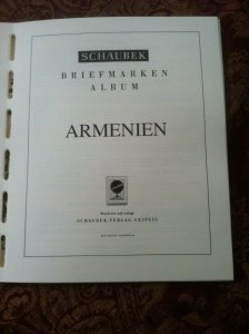 REPUBLIC OF ARMENIA Stamp collection 1992 - 2003 MINT