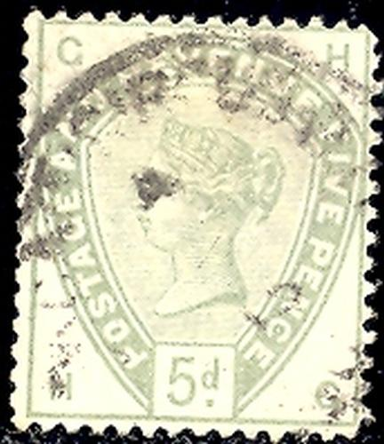 Great Britain # 104  Used VF