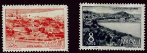 Macao #343-344 Mint VF SC$19.50... Worth a close look!