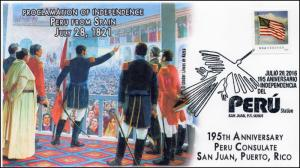 2016, Peru Independence from Spain, 195th Annie, San Juan, Puerto Rico ,16-345