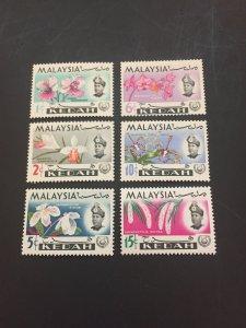 *Malaya Kedah #106-111**