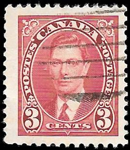 1937 CANADA SC# 233  -  CV $.30 -  USED NHng - NICE STAMP