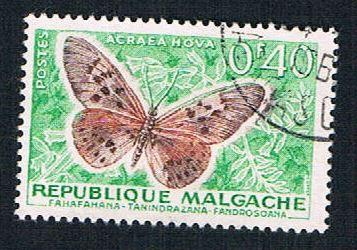 Madagascar 307 Used Butterfly (BP14413)