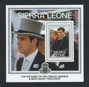 Sierra Leone souvenir sheet  mnh  sc 772