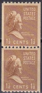 US #849 MNH Pair  CV $2.50 (A19934)