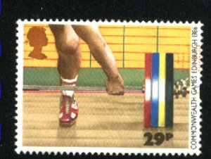 Great Britain #1151  used 1986 PD