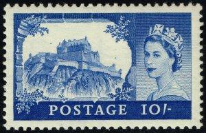 Great Britain #311 Edinburgh Castle; Unused (2Stars)