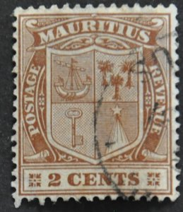 DYNAMITE Stamps: Mauritius Scott #138 – USED