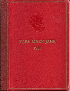 DDR 1953 Karl Marx Jahr (Year)  Souvenir Book