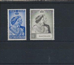 BASUTOLAND 1948 RSW PAIR MM SG 36/37 CAT £50