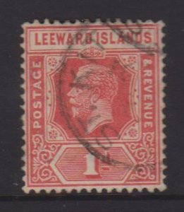 Leeward Islands Sc#63 Used Postmark St Kitts