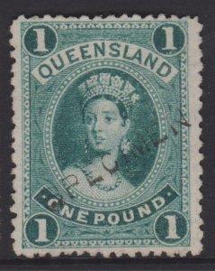 Queensland Sc#78 Specimen No Gum