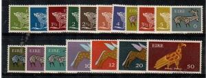 Ireland Scott 290-304 Mint hinged (Catalog Value $60.80)