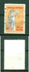 Finland. Poster Stamp 1962. Lux Cancel. Association For The Blinds.