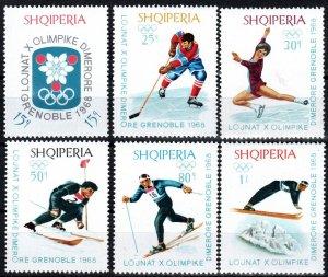 Albania #1103-8  MNH CV $3.40  (X2570)