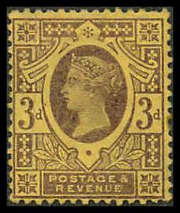 Great Britain 115 Mint F-VF NG, sp