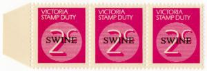 (I.B-CK) Australia - Victoria Revenue : Swine Duty 2c