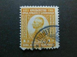 A4P22F52 Yugoslavia 1921 1d used