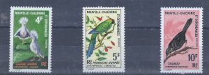 NEW CALEDONIE 364-66 MH SCV $23.00 STARTS AT 30% OF CAT VALUE