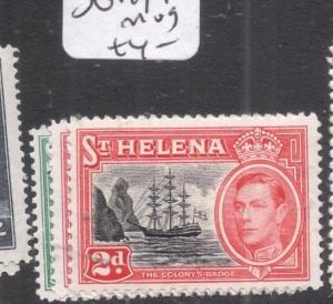 St Helena SG 149-1 MOG (8dlz)