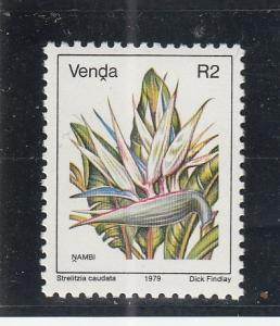 Venda  Scott#  23  MNH  (1979 Flowers)