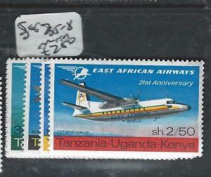 KENYA, UGANDA, TANGANYIKA   (PP0106B) AIRPLANE     SG 235-8     MNH