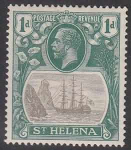 St. Helena 80 MH CV $4.25