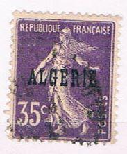 Algeria 17 Used France overprint 1924 (A0396)