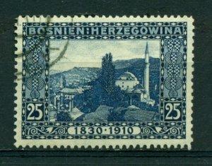 Bosnia & Herzegovina 1910 #53 U SCV(2020)=$3.75