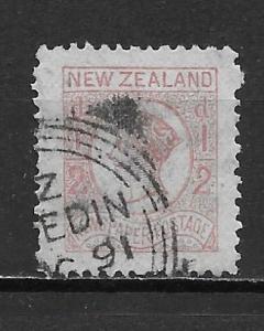 New Zealand P3 Newspaper stamp single Used (z3)