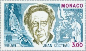 Monaco 1989 Jean Cocteau (1889-1963), french poet and film director MNH**