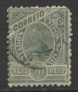 Brazil - Scott 159 - Definitive -1900 -Used - Single 50r Stamp