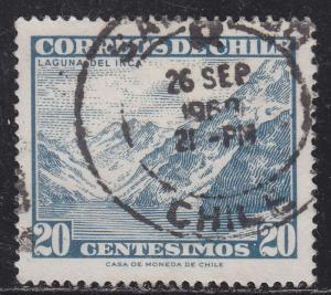 Chile 329 Inca Lake 1962