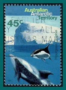 AAT 1995 Hourglass Dolphins, used  #L95,SG109