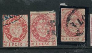 Colombia SC 42, 42a X 2 VFU (7dwa)