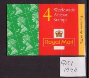 Gb Qe II 1996 Gr1 Booklet.mnh État