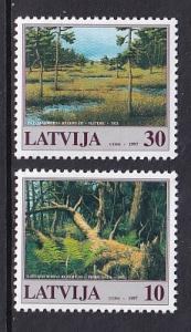 Latvia MNH 452-3 Nature Reserves 1997