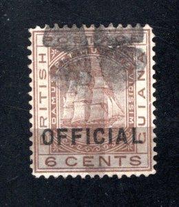 British Guiana, Scott #86, F/VF, Used,  CV $135.00  ..... 0850018