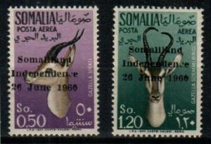 Somalia Scott C68-9 Mint NH (Catalog Value $69.00)