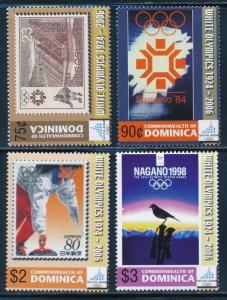 Dominica - 2006 Turin Olympic Games Stamps Set