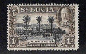 Saint Lucia Scott 96 MH*