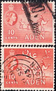 Aden #49,49a Used